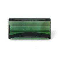 Ярко-зелёный турмалин багет вес 2.29 карат, размер 12.1х6мм (turm0206)