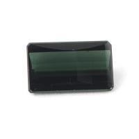 Тёмный сине-зелёный турмалин октагон вес 1.86 карат, размер 10.2х6мм (turm0208)