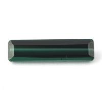 Голубовато-зелёный турмалин октагон вес 2.55 карат, размер 17.1х4.4мм (turm0210)