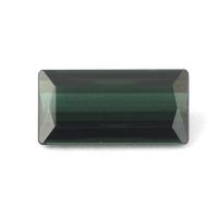 Сине-зелёный турмалин индиголит багет вес 2.24 карат, размер 12.1х6.1мм (turm0216)