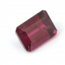 Малиновый турмалин рубеллит октагон вес 1 карат, размер 6.9х4.9мм (turm0225)