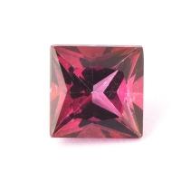 Ярко-розовый турмалин рубеллит квадрат вес 2.09 карат, размер 7х7мм (turm0228)