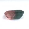Полихромный (арбузный) турмалин октагон вес 2.1 карат, размер 9х6.1мм (turm0264)