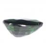 Тёмно-зелёный хромтурмалин груша вес 1.06 карат, размер 8.5х5.4мм (turm0267)