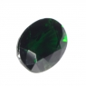 Тёмно-зелёный хромтурмалин овал вес 1.02 карат, размер 6.9х5.3мм (turm0269)