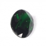 Тёмно-зелёный хромтурмалин овал вес 0.72 карат, размер 6.8х5.1мм (turm0270)