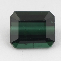 Синевато-зелёный турмалин формы октагон, вес 4,43 карат, размер 10,7х8,8мм (turm0308)