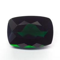 Тёмно-зелёный хромтурмалин антик вес 2.48 карат, размер 10.1х6.9мм (turm0332)