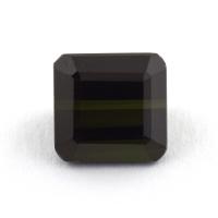 Темно-зеленый турмалин формы октагон, вес 2.33 карат, размер 7.3х7мм (turm0338)