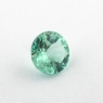 Светлый голубовато-зеленый турмалин формы круг, вес 0.71 карат, размер 5.9х4.8мм (turm0340)