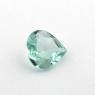 Светлый голубовато-зеленый турмалин формы сердце, вес 0.56 карат, размер 6.2х6.1мм (turm0341)