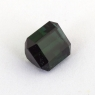 Темно-зеленый турмалин октагон, вес 1.27 карат, размер 6.3х5.2мм (turm0357)