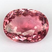 Розовый турмалин овал, вес 4.75 карат, размер 12.2х9.3мм (turm0358)