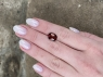 Коричнево-розовый турмалин овал, вес 3.8 карат, размер 11.7х9мм (turm0361)