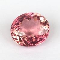 Розовый турмалин овал, вес 2.05 карат, размер 8.3х7.4мм (turm0362)