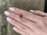 Светло-розовый турмалин отличной российской огранки антик, вес 5.96 карат, размер 11х10.1мм (turm0366)