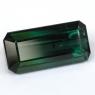 Сине-зеленый турмалин октагон, вес 16.95 карат, размер 20.7х10мм (turm0369)