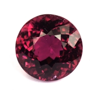 Коричневато-розовый турмалин круг, вес 3.02 карат, размер 8.4х8.4мм (turm0385)