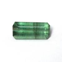 Мутно-зеленый турмалин октагон, вес 2.8 карат, размер 12.2х5.6мм (turm0402)