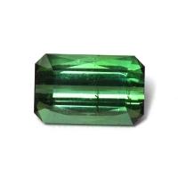 Зеленый турмалин отличной огранки октагон, вес 2.02 карат, размер 9.1х5.8мм (turm0412)