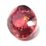 Оранжевато-розовый турмалин рубеллит овал, вес 14.1 карат, размер 15.7х13.3мм (turm0418)