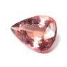 Персиково-розовый турмалин груша, вес 5.39 карат, размер 15.7х10.6мм (turm0421)