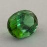 Ярко-зеленый турмалин отличной российской огранки формы овал, вес 2.34 карат, размер 9.6х6.9мм (turm0426)