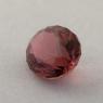 Коричневато-розовый турмалин отличной российской огранки формы овал, вес 1.77 карат, размер 9х6.6мм (turm0428)