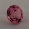 Ярко-розовый турмалин отличной российской огранки формы круг, вес 1.45 карат, размер 7.1х7.1мм (turm0445)