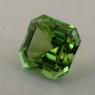 Салатово-зеленый турмалин отличной российской огранки формы октагон, вес 1.9 карат, размер 7.1х7.1мм (turm0448)