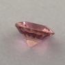 Розовый турмалин отличной российской огранки формы круг, вес 1.02 карат, размер 6.9х6.9мм (turm0452)