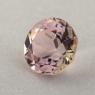 Бледно-розовый турмалин отличной российской огранки формы круг, вес 1.18 карат, размер 6.5х6.5мм (turm0453)