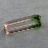 Арбузный турмалин октагон, вес 4.4 карат, размер 15х6мм (turm0457)