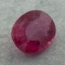 Ярко-розовый турмалин рубеллит овал, вес 5.3 карат, размер 12.4х10.2мм (turm0496)