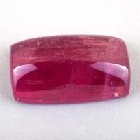 Ярко-розовый турмалин рубеллит кабошон антик, вес 22.86 карат, размер 21.3х12.3мм (turm0498)