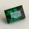 Зелёный турмалин верделит формы багет, вес 3.97 карат, размер 7.2х5.7мм (turm0517)