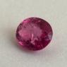 Ярко-розовый турмалин рубеллит формы овал, вес 2.2 карат, размер 9.1х7.8мм (turm0518)