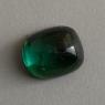 Голубовато-зелёный турмалин кабошон антик, вес 4.08 карат, размер 10.5х8.7мм (turm0538)