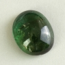 Зелёный турмалин кабошон овал, вес 8.44 карат, размер 14.9х12.1мм (turm0547)