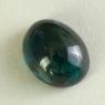 Сине-зелёный турмалин кабошон овал, вес 4.23 карат, размер 10.5х8.3мм (turm0557)
