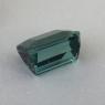 Светлый серо-сине-зеленый турмалин формы октагон, вес 2.38 карат, размер 7.8х6.6мм (turm0561)