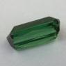 Зеленый турмалин формы октагон, вес 4.9 карат, размер 12.8х7мм (turm0564)