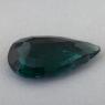 Тёмный сине-зелёный турмалин формы груша, вес 2.7 карат, размер 13.6х8.3мм (turm0567)
