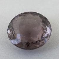 Серо-коричнево-пурпурный турмалин формы круг, вес 4.43 карат, размер 11.3х11.3мм (turm0569)