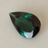 Зеленовато-синий турмалин индиголит формы груша, вес 1.7 карат, размер 10.8х6.9мм (turm0573)