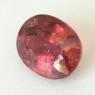Оранжево-розовый турмалин формы овал, вес 14.99 карат, размер 16.8х13мм (turm0588)