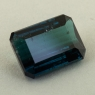 Тёмный зеленовато-синий турмалин индиголит формы октагон, вес 5.59 карат, размер 12.2х9.1мм (turm0593)