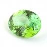 Желтовато-зелёный турмалин формы овал, вес 4.35 карат, размер 11.4х9мм (turm0596)