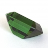 Зеленый турмалин отличной российской огранки формы октагон, вес 8.41 карат, размер 14х9.4мм (turm0597)