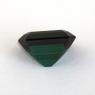 Сине-зеленый турмалин отличной российской огранки формы октагон, вес 3.79 карат, размер 9.7х8.6мм (turm0601)
